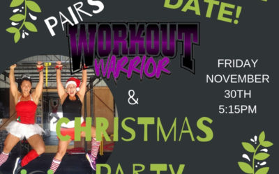 Workout Warrior and Christmas Party
